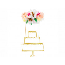 Meri Meri Cake Topper FLOWER BOUQUET