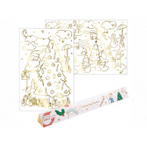 Meri Meri XL Colouring Posters CHRISTMAS