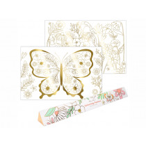 Meri Meri XL Colouring Posters BUTTERFLIES