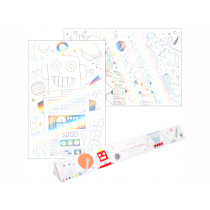 Meri Meri XL Colouring Posters SPACE