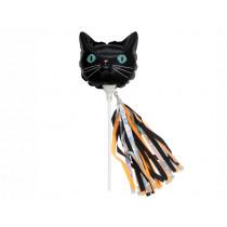 Meri Meri 6 Mini Foil Balloons BLACK CAT