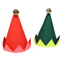 Meri Meri 8 Mini Party Hats ELF