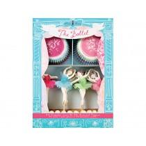 Meri Meri Cupcake Set Dancers Ballet
