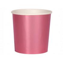 Meri Meri 8 Tumbler Party Cups METALLIC PINK