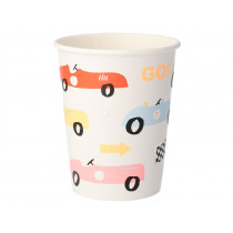 Meri Meri 8 Party Cups RACE CAR