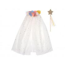 Meri Meri Dress Up Set POM POM COLLAR CAPE (3-6 yrs)