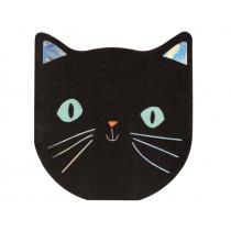 Meri Meri Napkins BLACK CAT