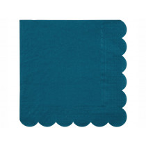 Meri Meri 20 Large Napkins DARK TEAL