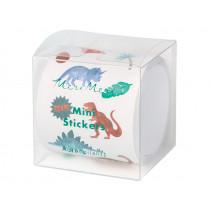 Meri Meri 500 Mini Stickers on a Roll DINOSAUR KINGDOM