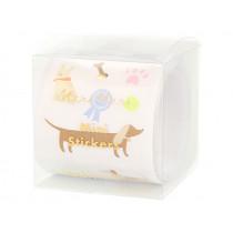 Meri Meri 500 Mini Stickers on a Roll DOG PARTY