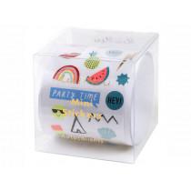 Meri Meri 500 Mini Stickers on a Roll PARTY ICONS