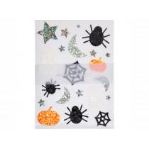 Meri Meri 120 Glitter Stickers HALLOWEEN