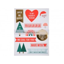 Meri Meri Gift Wrapping Stickers XMAS