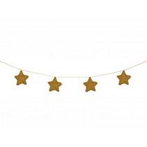 Meri Meri Garland KNITTED STARS Gold