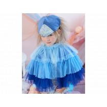 Meri Meri Cape Dress Up BLUE BIRD 3-6 yrs.