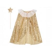 Meri Meri Dress Up Set GOLD SPARKLE CAPE