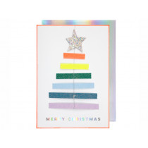 Meri Meri Christmas Card TREE ORNAMENT