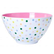 RICE salad bowl LET'S SUMMER Dots