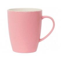 Miss Étoile bamboo melamine coffee mug pink