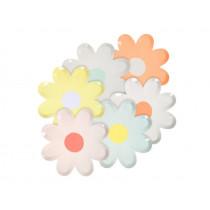 Meri Meri Party Canape Plates DAISY pastel