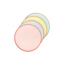 Meri Meri 12 Party Side Plates pastel