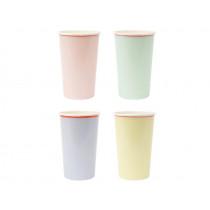 Meri Meri 12 Highball Party Cups pastel