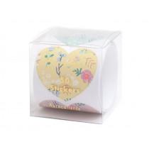 Meri Meri 50 Sticker Hearts WILDFLOWER