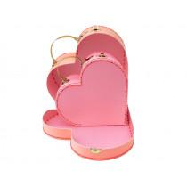 Meri Meri 2 Suitcases HEARTS