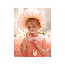 Meri Meri 4 Paper Bonnets FLOWERS