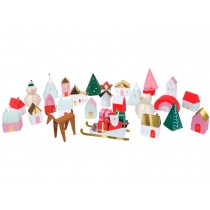 Meri Meri Advent Calendar 3D XMAS VILLAGE