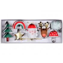 Meri Meri Cookie Cutters SANTA & FRIENDS