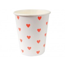 Meri Meri Party Cup Hearts