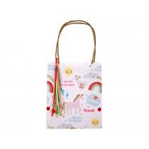 Meri Meri Party Gift Bags Rainbow and Unicorn