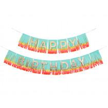 Meri Meri Rainbow Garland HAPPY BIRTHDAY