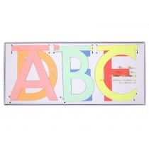 Meri Meri Letter Garland Kit multi-colour