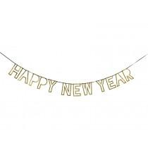 Meri Meri Garland HAPPY NEW YEAR gold