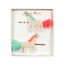 Meri Meri Hair Pins Unicorns