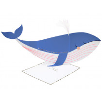 Meri Meri 3D Greeting Card WHALE