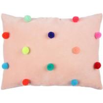 Meri Meri Velvet Cushion POMPOMS