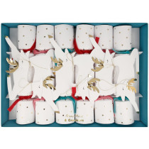 Meri Meri 6 Medium Party Crackers LEAPING REINDEER