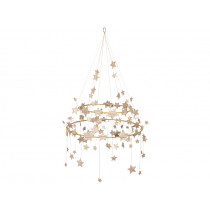 Meri Meri Chandelier SPARKLE STAR gold