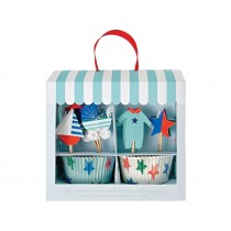 Meri Meri Cupcake Kit BABY SHOWER blue
