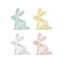 Meri Meri 12 Party Plates BUNNY WILDFLOWER