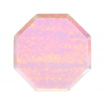 Meri Meri Dinner Party Plates IRIDESCENT