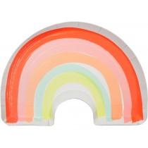 Meri Meri Rainbow Large Party Plates