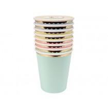 Meri Meri Party Cups pastel