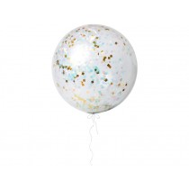 Meri Meri Giant Confetti Balloons iridescent