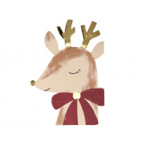 Meri Meri Small Napkins REINDEER with BOW