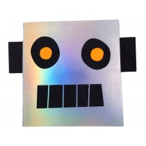Meri Meri Stickers & Sketch Book ROBOT
