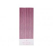 Meri Meri Straws pink foil